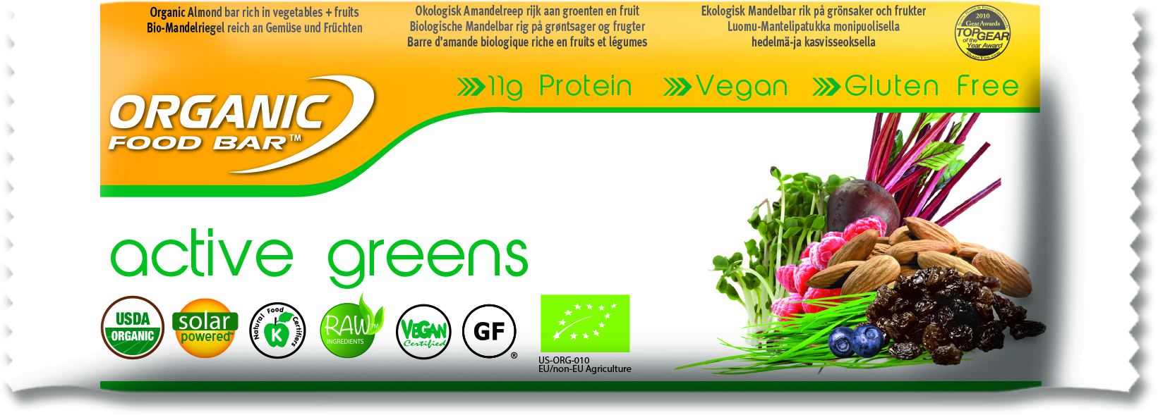 Health & Wellbeing Active Greens 68g (12 Pack)