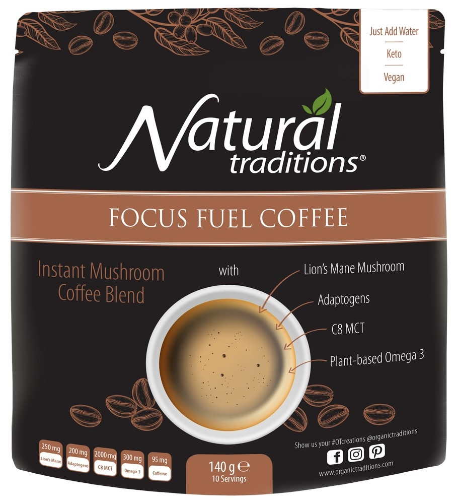 Health & Wellbeing Focus Fuel Coffee 140g