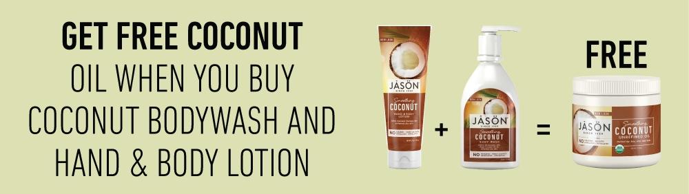 Jason - Coconut Bundle - Get Free Coconut Oil 443ml