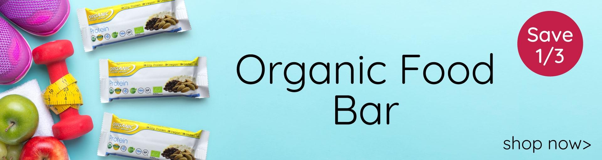 Organic Food Bars - 33% OFF